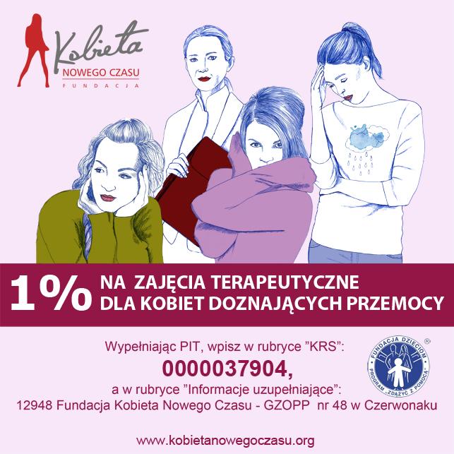 Plakat kampanii Fundacji Konieta Nowego Czasu