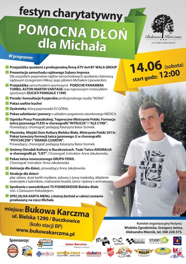Michał - festyn plakat