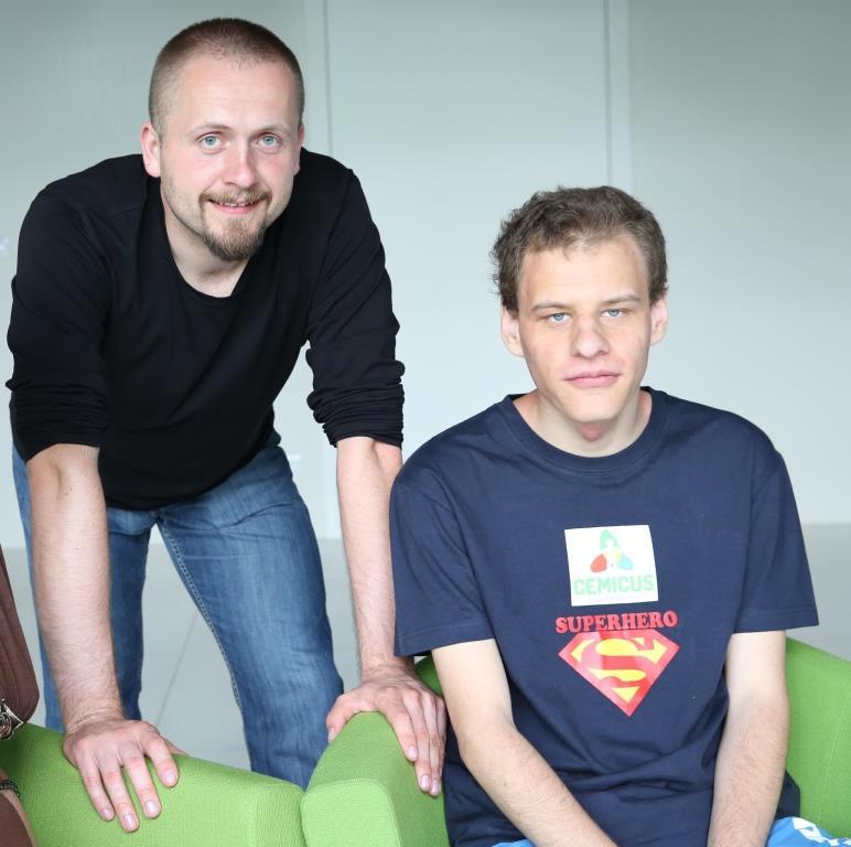 Tomasz Kacprzak i Marcin